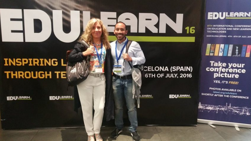 Participation of our project in EDULEARN16!