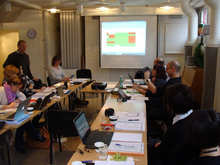 4th Transnational Meeting in Stockholm, Sweden